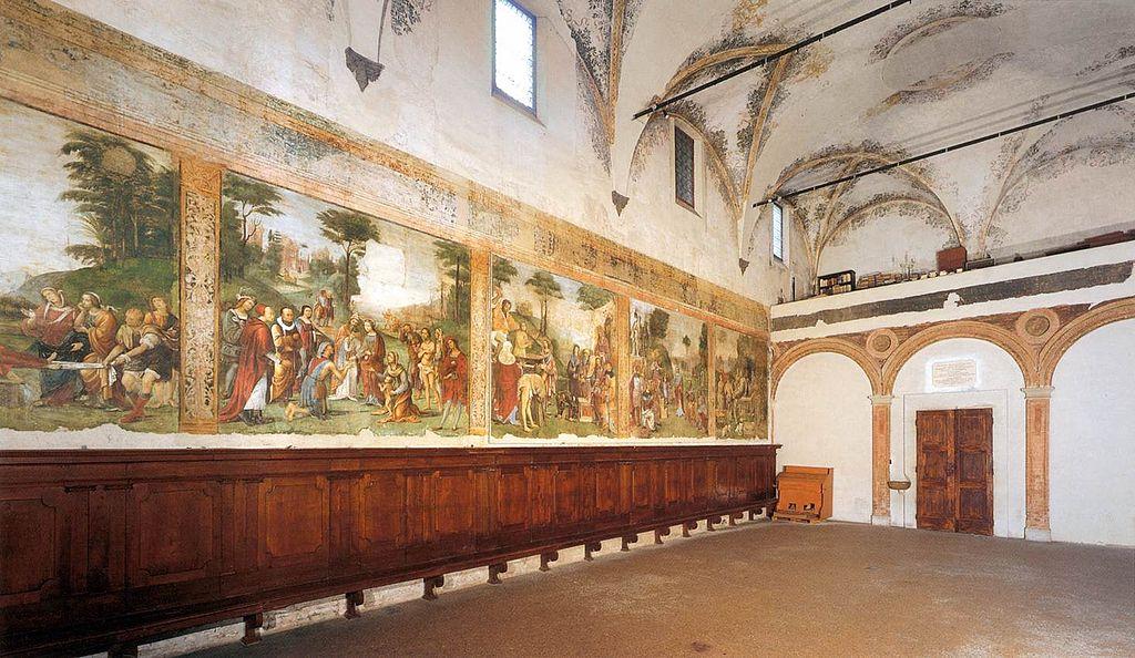 Amico Aspertini, Oratorio di Santa_Cecilia